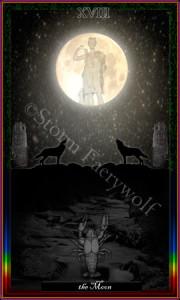 """The Moon"" ©2010 Storm Faerywolf"