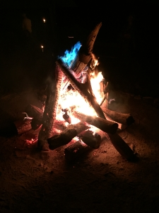 The magic of the blue flame revealed!