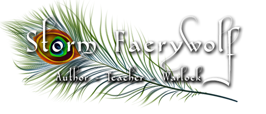 Storm Faerywolf: Author • Teacher • Warlock