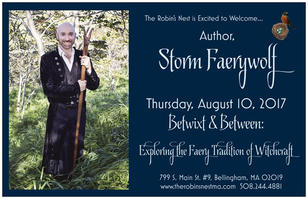 Book Tour August 2017: Robin's Nest, Massachusetts