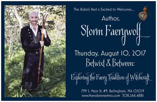 Book Tour August 2017: Robin's Nest, Massachusetts
